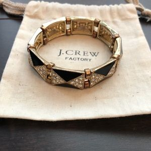 JCrew Art Deco Bracelet